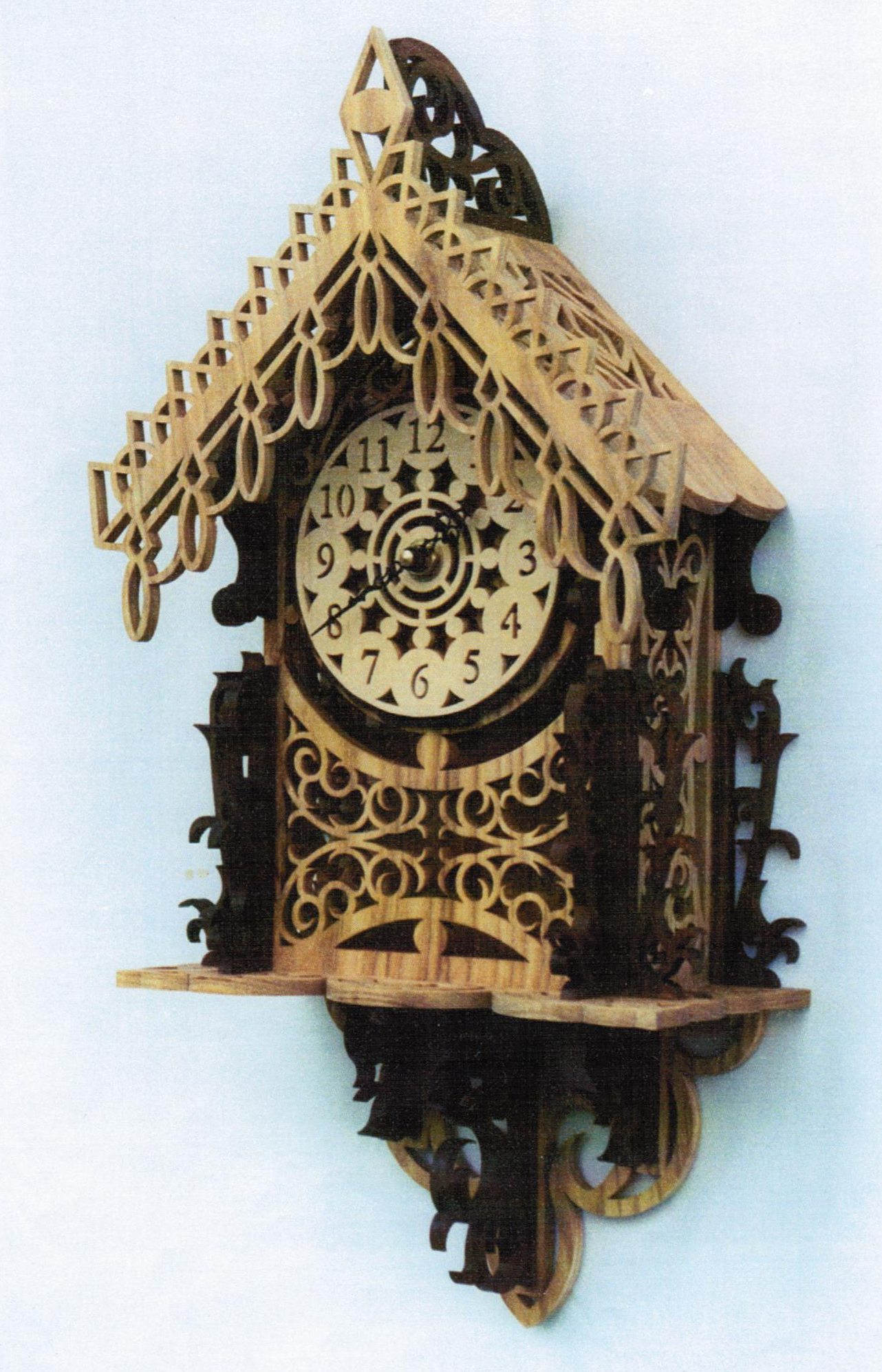 Fretwork Clock Patterns Plans DIY Free Download Drill ...